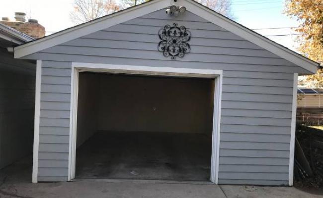Garage parking on South Clermont Street in Denver