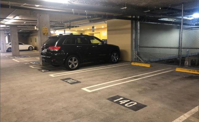 Garage parking on South Crescent Park East in Playa Vista