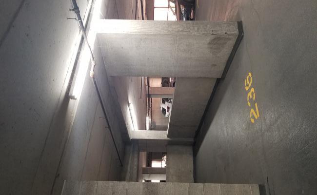 Indoor lot parking on South Desplaines Street in Chicago
