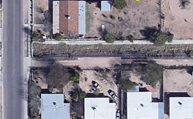 parking on South San Fernando Avenue in Tucson