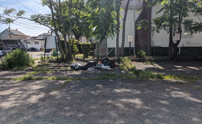 Outdoor lot parking on South State Street in Hackensack