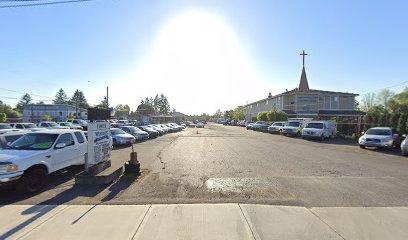 parking on South Tacoma Way in Tacoma