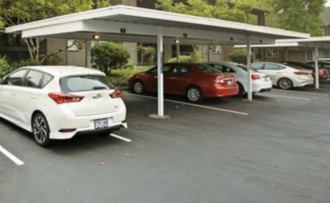 Carport parking on Southwest 146th Terrace in Beaverton