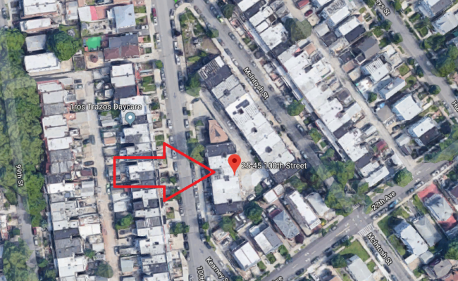 parking on 25-45 100th St in Flushing