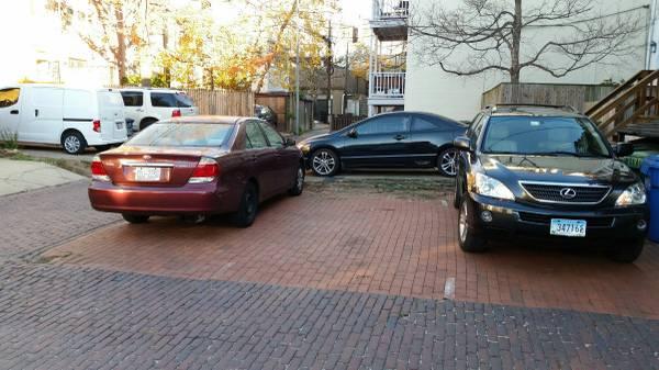 parking on 21st Street Northwest in Washington