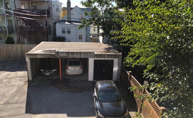 Driveway parking on Trenton Street in Boston