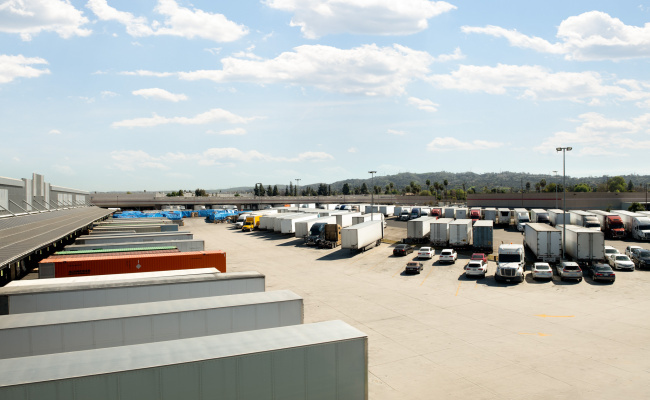 Outdoor lot parking on Turnbull Canyon Road in Industry