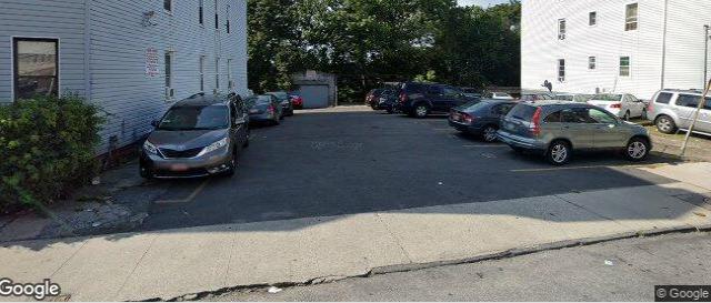 Outdoor lot parking on Van Cortlandt Park Avenue in New York