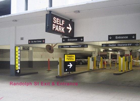 parking on W Randolph St in Chicago