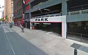 Garage parking on Walnut Street in Philadelphia