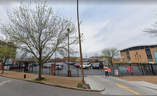 parking on Washington Avenue in St. Louis