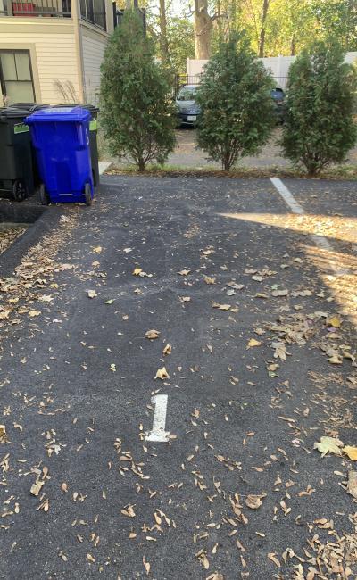 Outside parking on Washington Street in Boston