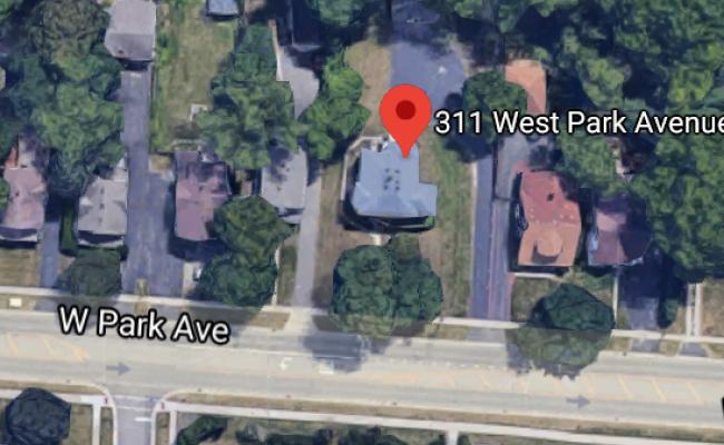 parking on West Park Avenue in Buffalo Grove