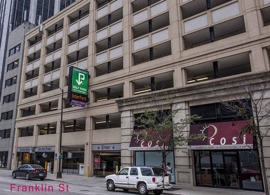 parking on West Washington Street in Chicago