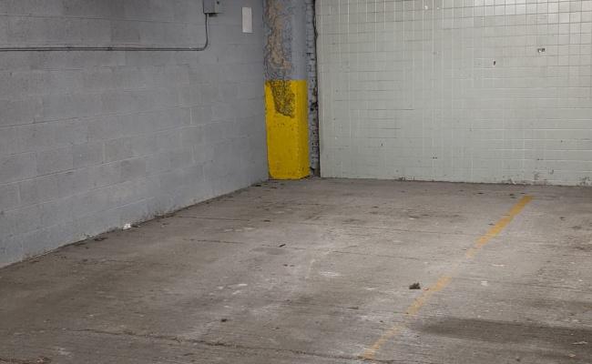 Garage parking on West Washington Street in Chicago