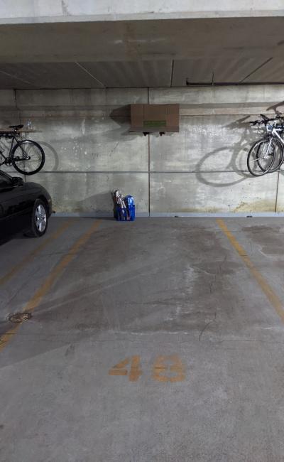 Garage parking on West Wayman Street in Chicago