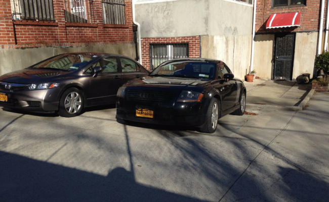 parking on 71-11 Yellowstone Boulevard in Queens