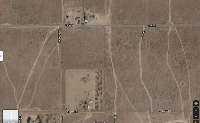 Outdoor lot parking on Zuni Road in Apple Valley