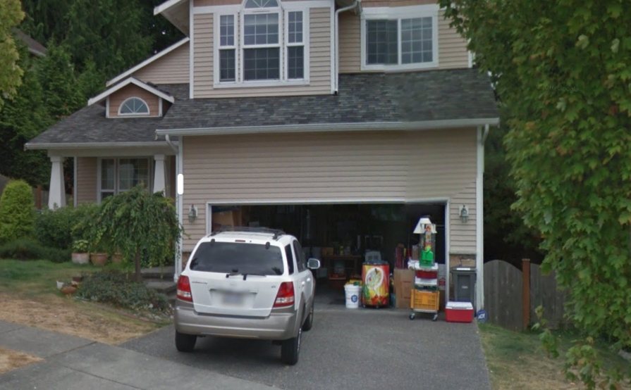 Garage parking on 151st Pl SW in Lynnwood