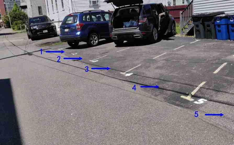 parking on Chester St in Malden