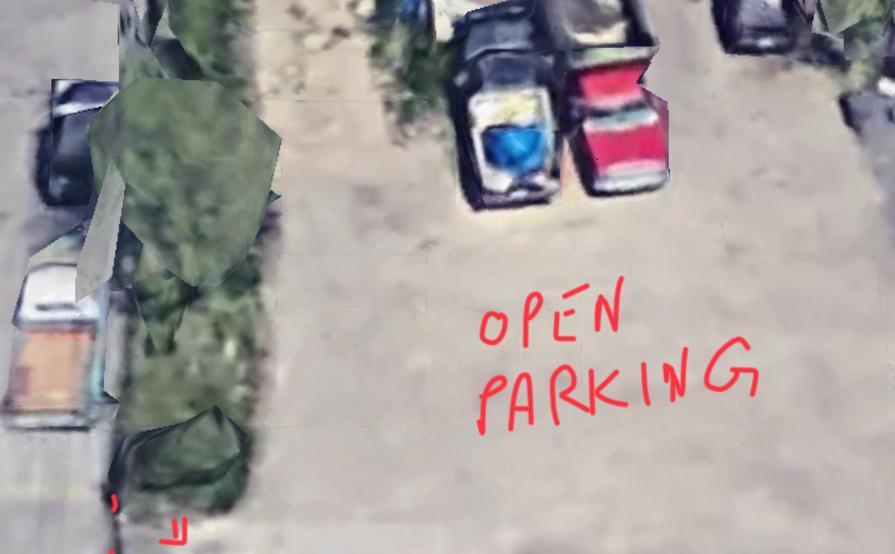 Parking Space parking on Miner St in Des Plaines