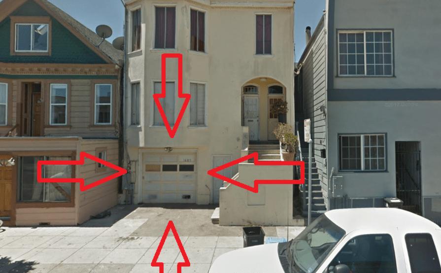 parking on Oakdale Ave in San Francisco