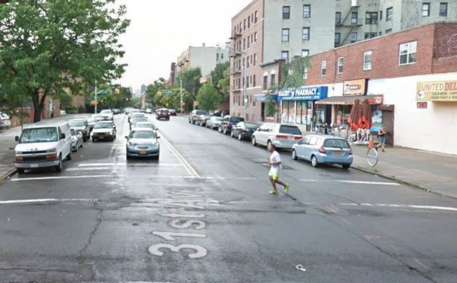 parking on 31st St in Queens