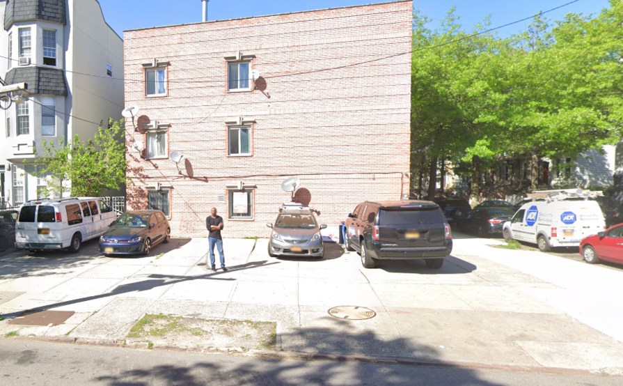 parking on Chauncey St in Brooklyn