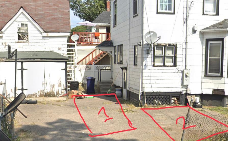 parking on Evans St in Boston