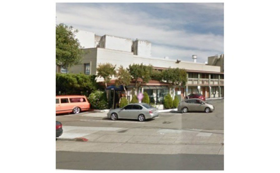Parking Space parking on Market St in San Francisco