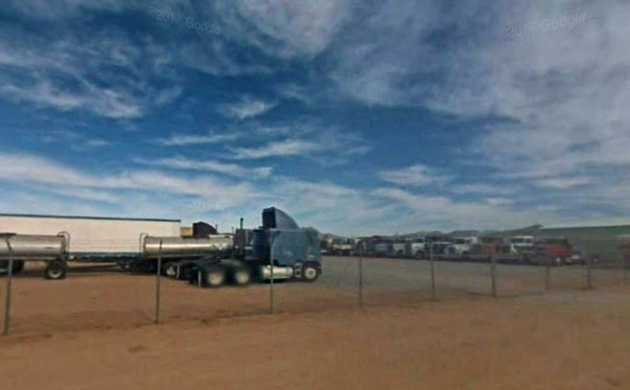 parking on Papago Rd in Apple Valley