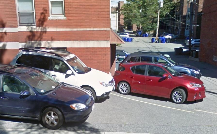 parking on Beacon St in Brookline