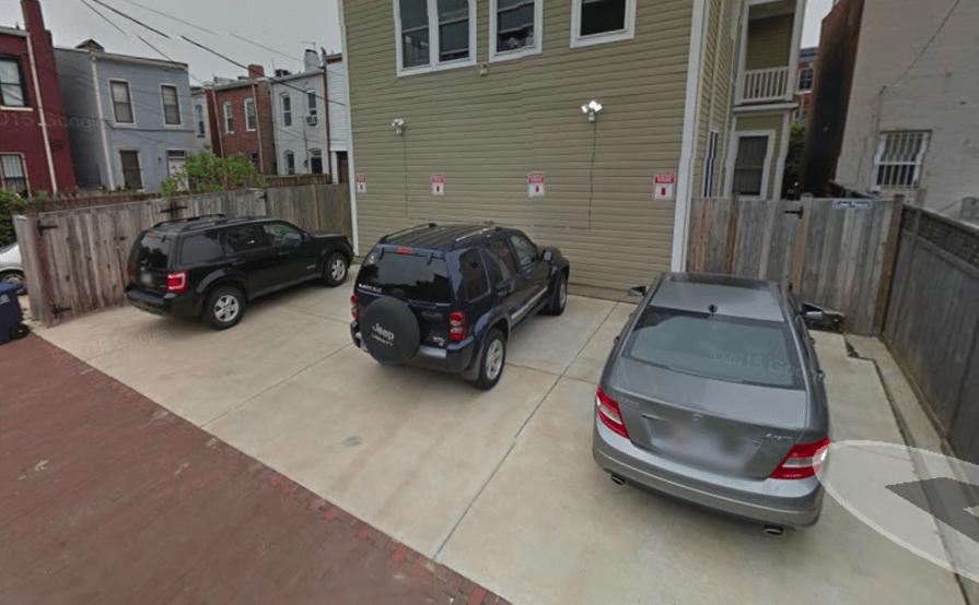 parking on U St NW in Washington