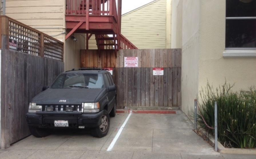 parking on Diamond St in San Francisco