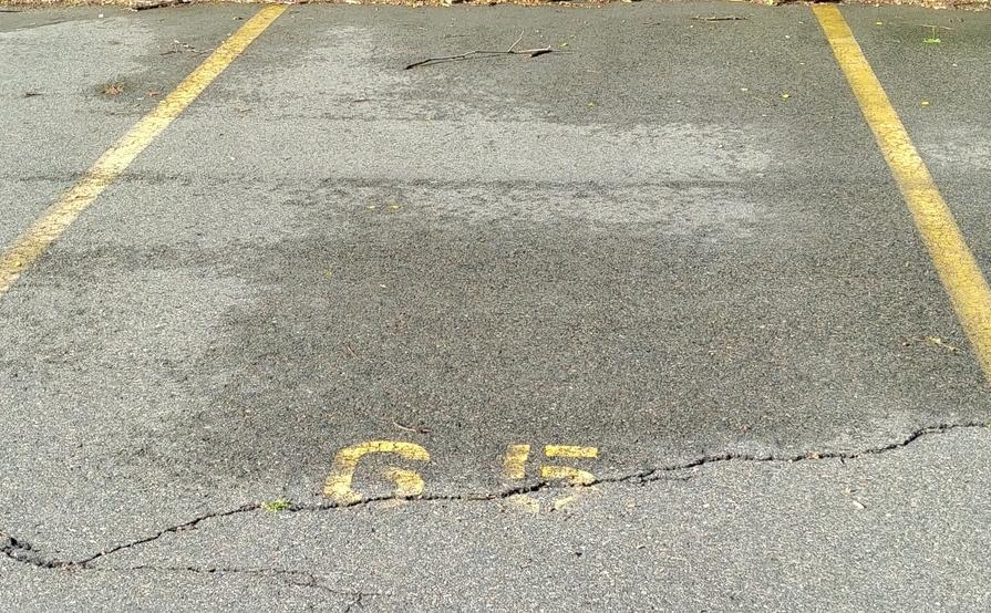 Outside parking on Gordon St in Boston
