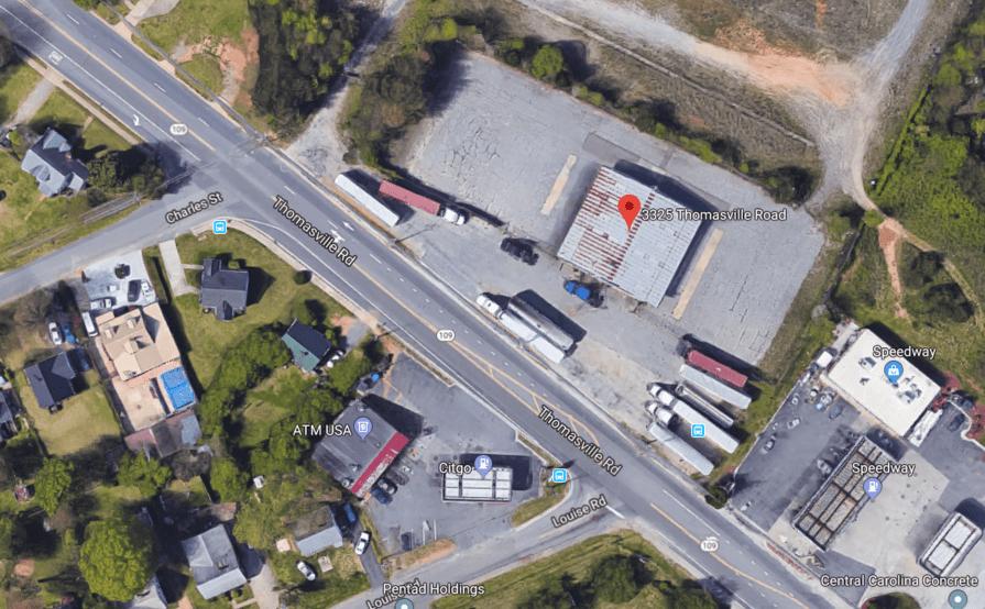 Parking Space parking on Thomasville Rd in Winston-Salem