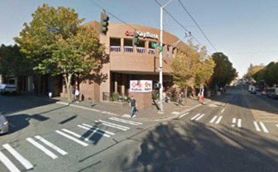 Outdoor lot parking on Brooklyn Avenue Northeast in Seattle