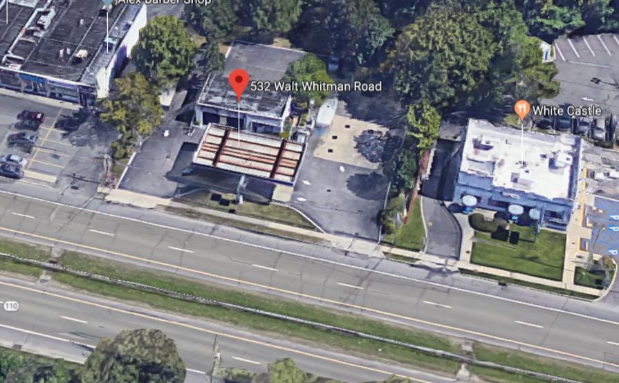 parking on Walt Whitman Rd in Melville