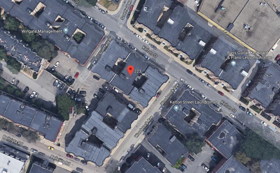 parking on 221-223 Kelton St in Boston