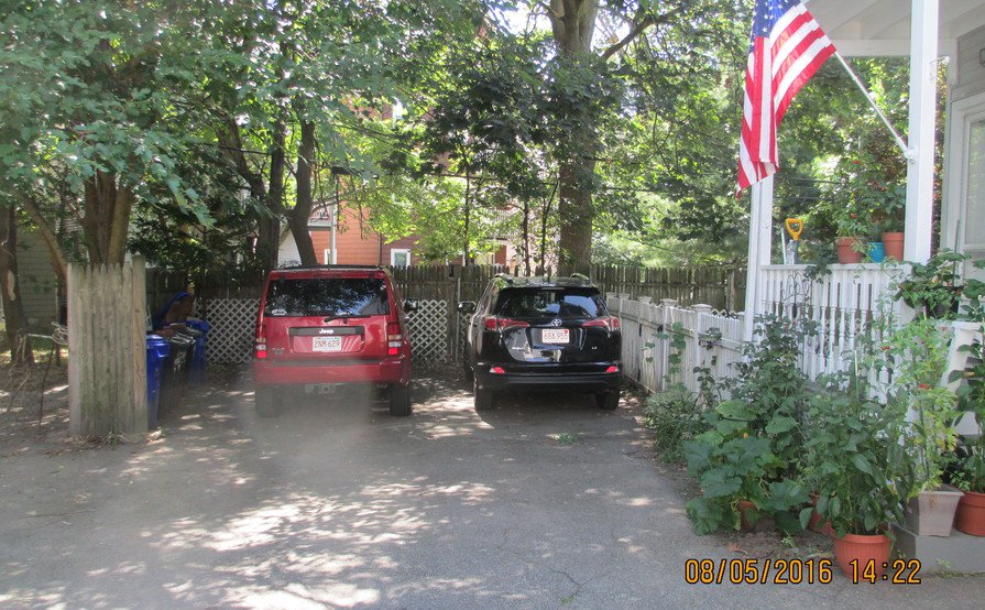 Outside parking on Beaconsfield Rd in Brookline