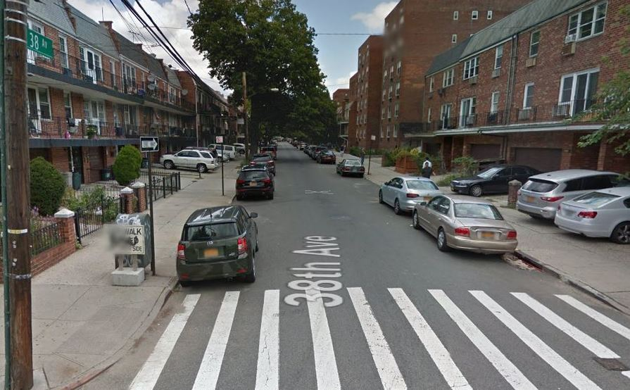 parking on 38th Ave & Parsons Blvd in Flushing