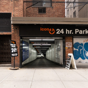 parking on East 9th Street in New York