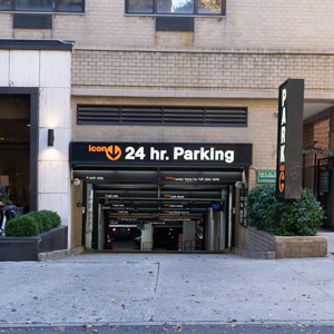 Indoor lot parking on East 27th St in New York