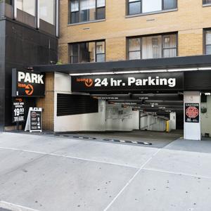Indoor lot parking on Livingston Street in Brooklyn
