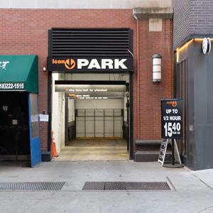 Indoor lot parking on Montague Street in Brooklyn