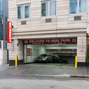 Indoor lot parking on Riverside Blvd in New York