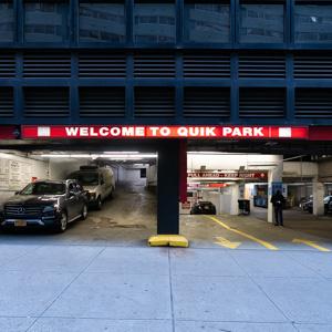 parking on Lexington Ave in New York