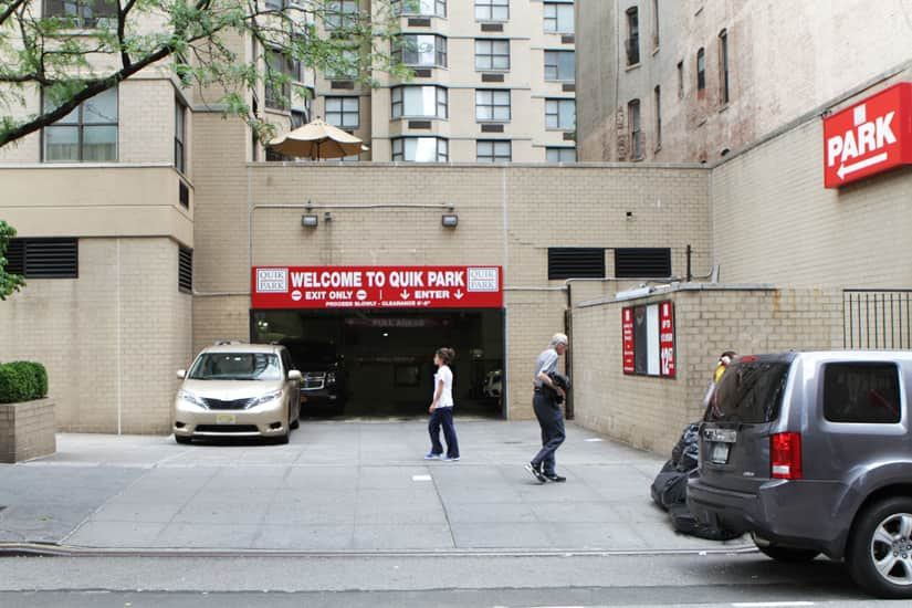 Indoor lot parking on East 71st Street in New York