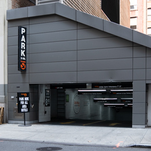 parking on 6th Avenue in New York