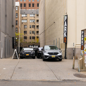 parking on 8th Avenue in New York